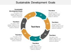 Sustainable Development Goals Ppt PowerPoint Presentation Infographic Template Show Cpb