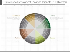 Sustainable Development Progress Template Ppt Diagrams
