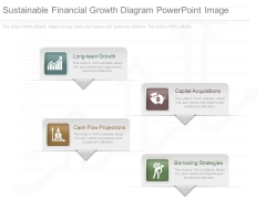 Sustainable Financial Growth Diagram Powerpoint Image