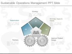 Sustainable Operations Management Ppt Slide