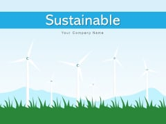 Sustainable Renewable Energy Product Ppt PowerPoint Presentation Complete Deck