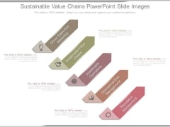 Sustainable Value Chains Powerpoint Slide Images