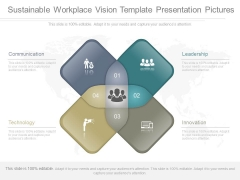 Sustainable Workplace Vision Template Presentation Pictures