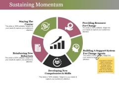 Sustaining Momentum Ppt PowerPoint Presentation Pictures Layouts