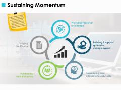 Sustaining Momentum Ppt PowerPoint Presentation Portfolio Layout