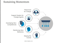 Sustaining Momentum Template 1 Ppt PowerPoint Presentation Templates