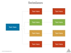 Swimlanes Ppt PowerPoint Presentation Diagrams