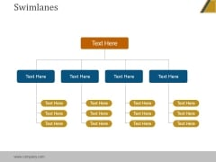 Swimlanes Ppt PowerPoint Presentation Slides
