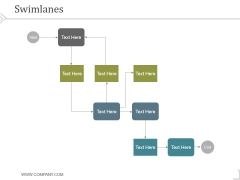 Swimlanes Ppt PowerPoint Presentation Themes