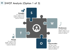 Swot Analysis Business Ppt PowerPoint Presentation Professional Brochure