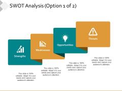 Swot Analysis Opportunities Ppt PowerPoint Presentation File Smartart