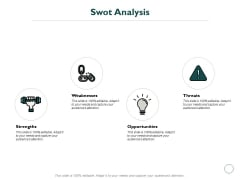 Swot Analysis Opportunities Ppt PowerPoint Presentation Ideas Example File