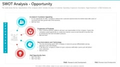 Swot Analysis Opportunity Guidelines PDF
