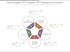 Swot Analysis Ppt Diagram Ppt Background Designs
