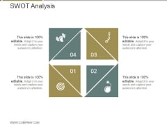 Swot Analysis Ppt PowerPoint Presentation Designs