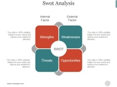 Swot Analysis Ppt PowerPoint Presentation Example 2015