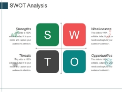 Swot Analysis Ppt PowerPoint Presentation File Slide