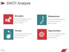 Swot Analysis Ppt PowerPoint Presentation Icon Layout Ideas