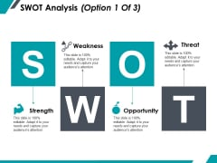 Swot Analysis Ppt PowerPoint Presentation Infographic Template Icon