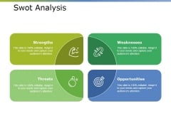 Swot Analysis Ppt PowerPoint Presentation Layouts Information