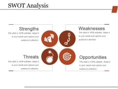 Swot Analysis Ppt PowerPoint Presentation Professional Background Image