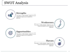 Swot Analysis Ppt PowerPoint Presentation Slides Clipart Images