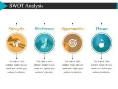 Swot Analysis Ppt PowerPoint Presentation Summary Grid