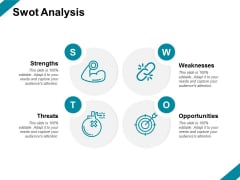 Swot Analysis Strength Ppt PowerPoint Presentation Slides Icon