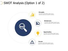 Swot Analysis Strengths Ppt PowerPoint Presentation Portfolio Ideas