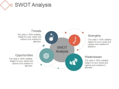Swot Analysis Template 1 Ppt PowerPoint Presentation Designs