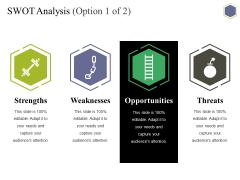 Swot Analysis Template 1 Ppt PowerPoint Presentation File Graphics