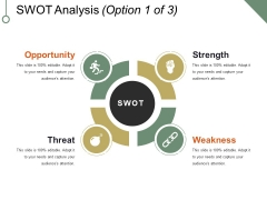 Swot Analysis Template 1 Ppt PowerPoint Presentation File Maker