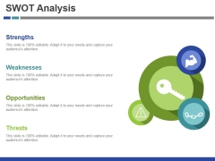 Swot Analysis Template 1 Ppt PowerPoint Presentation File Visuals