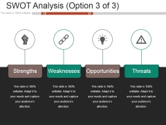 Swot Analysis Template 1 Ppt PowerPoint Presentation Icon Graphics Design