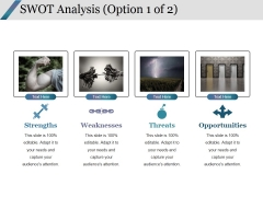 Swot Analysis Template 1 Ppt PowerPoint Presentation Professional File Formats