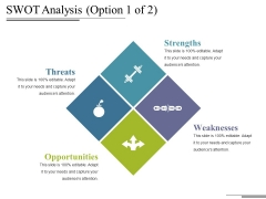 Swot Analysis Template 1 Ppt PowerPoint Presentation Professional Sample