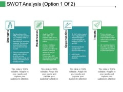 Swot Analysis Template 1 Ppt PowerPoint Presentation Template