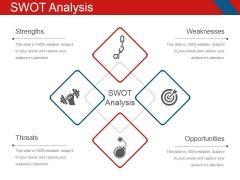Swot Analysis Template 2 Ppt PowerPoint Presentation Ideas Inspiration