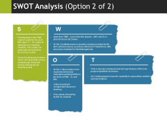 Swot Analysis Template 2 Ppt PowerPoint Presentation Infographics Layouts
