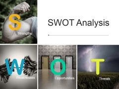 Swot Analysis Template 2 Ppt PowerPoint Presentation Pictures Ideas