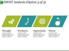 Swot Analysis Template 3 Ppt PowerPoint Presentation Designs