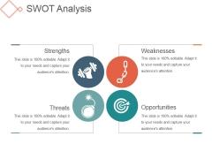 Swot Analysis Template 3 Ppt PowerPoint Presentation Good
