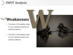 Swot Analysis Template 3 Ppt PowerPoint Presentation Portfolio Diagrams
