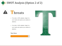 Swot Analysis Template 4 Ppt PowerPoint Presentation Outline Graphics Example