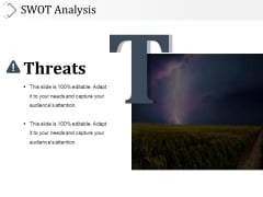 Swot Analysis Template 5 Ppt PowerPoint Presentation Icon Guide