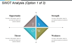 Swot Analysis Template Ppt PowerPoint Presentation Infographics Layout