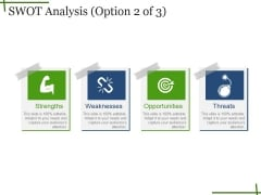 Swot Analysis Template Ppt PowerPoint Presentation Model Inspiration