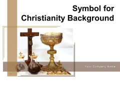 Symbol For Christianity Background Hand Praying Ppt PowerPoint Presentation Complete Deck