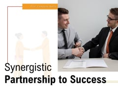 Synergy Process Partnership To Success Initiatives Research Ppt PowerPoint Presentation Complete Deck