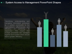 System Access To Management Ppt PowerPoint Presentation Topics